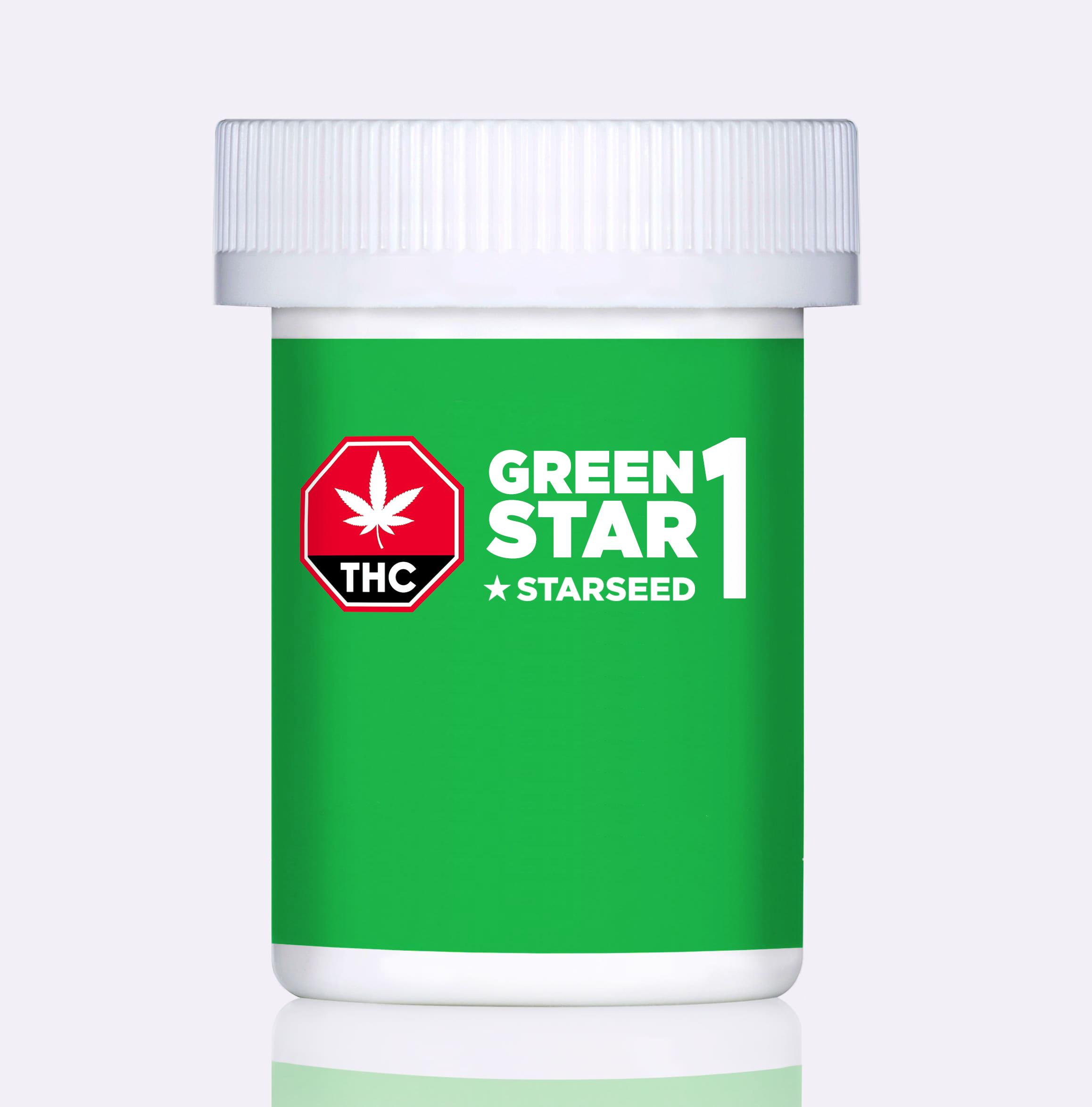 Starseed Green Star 1 - 5g