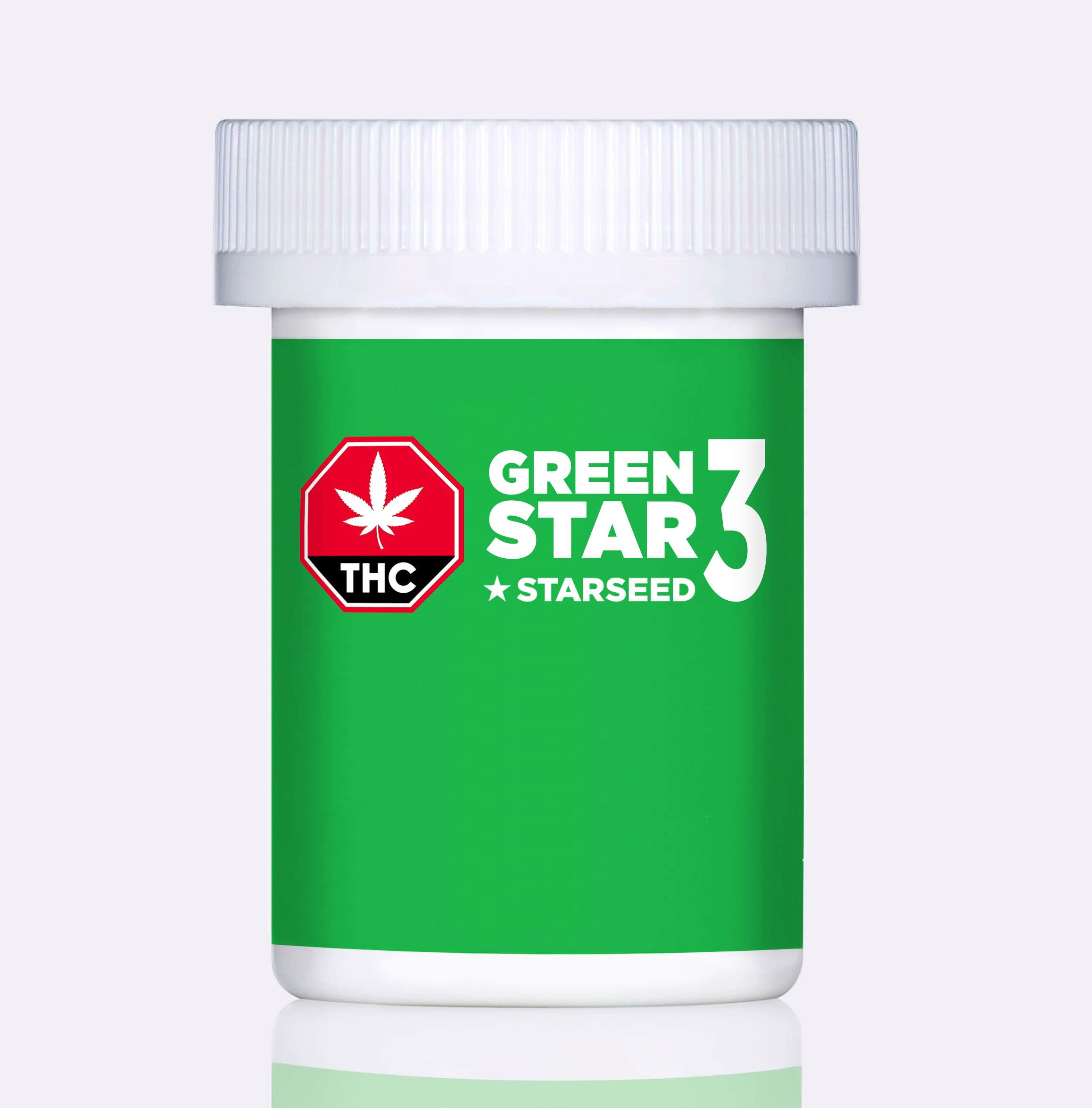 Starseed Green Star 3 - 5g